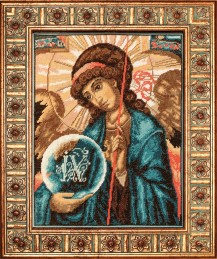 The Archangel Gabriel - Cross Stitch Kit with Color Symbolic Scheme