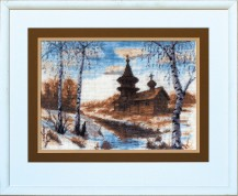 Early Spring - Counted Cross Stitch Kit with Color Symbolic Scheme