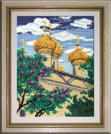 Kostroma - Counted Cross Stitch Kit with Color Symbolic Scheme