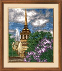 Admiralty - Counted Cross Stitch Kit with Color Symbolic Scheme