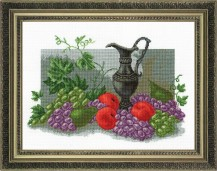 Antique Still Life - Cross Stitch Kit with Color Symbolic Scheme