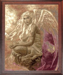 Angel Of Love - Cross Stitch Kit with Color Symbolic Scheme